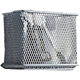 Design Ideas Mesh Magnet, Silver, Medium