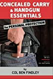 img - for Concealed Carry & Handgun Essentials for Personal Protection book / textbook / text book