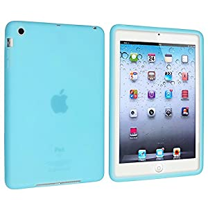 eForCity Silicone Case for Apple iPad mini, Sky Blue (PAPPIPDMSC12)