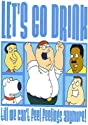 Family Guy Let's Go Drink Postcard 46121