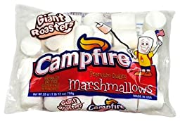 Campfire Giant Roasters Marshmallows Huge 28 Ounce Bag