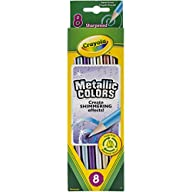 Crayola 8ct Metallic FX Colored Pencils