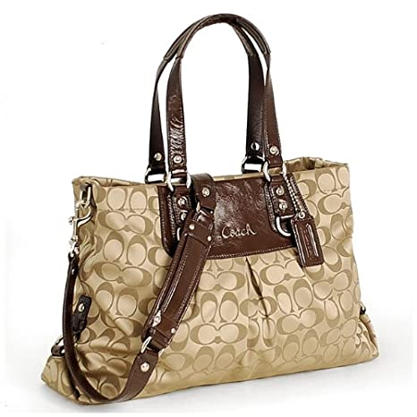 Enter to win a Coach Ashley Signature Carryall Bag. Ends 11/17. US-only.