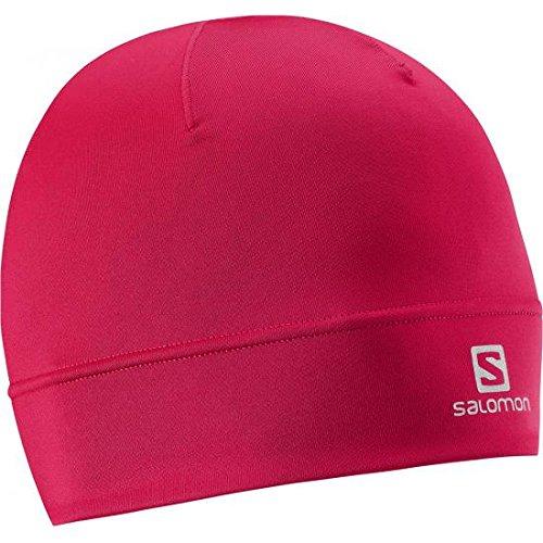 Salomon-Berretto Active W, Donna, Mütze Active Beanie W, Lotus Pink, taglia unica