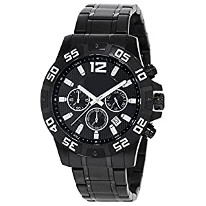 Generic Men's Time Automatic Watch Waterproof 50M Black