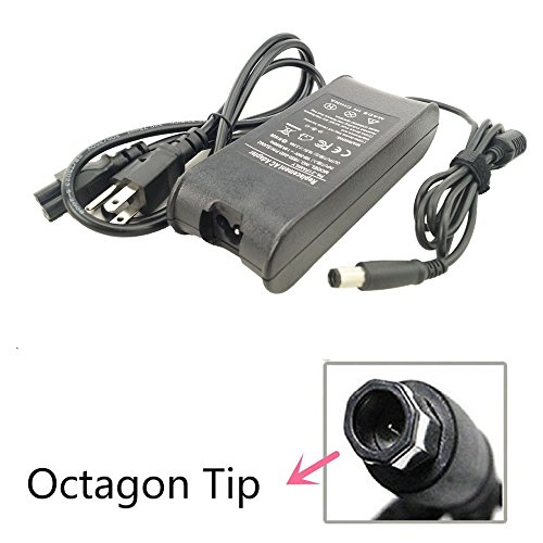 DJW® AC Power Adapter Charger For Dell Inspiron 1318 1440 15 1545 1750;Dell XPS-M1330 Pa-21 Power-Cord Laptop-Battery;Pa-21 Pa21 Nx061 Xk850 La65ns2-00 Pa-1650-02dw(Check it!Octagonal Square Plug) (Inspiron 1440 Ac Adapter compare prices)