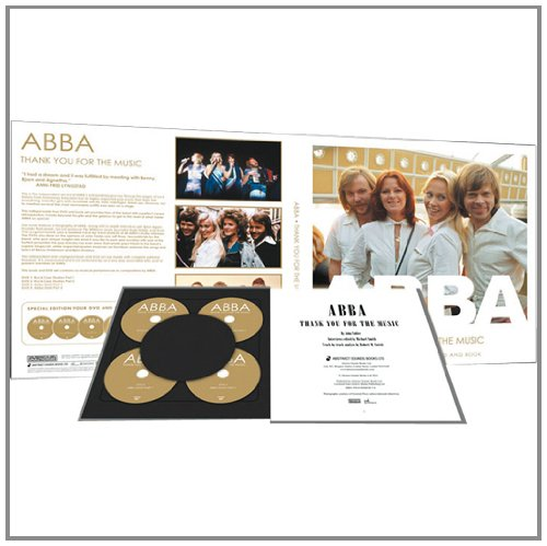 Thank You For The Music - Abba [Book + DVD]