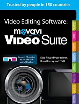 Movavi Video Suite 12 Video Editing Software Personal [Download]