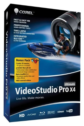 Corel VideoStudio Pro X4 Ultimate [OLD VERSION] (Corel Video Studio Ultimate compare prices)