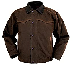 Outback Trading Co Men\'s Co. Oilskin Jacket Bronze X-Large