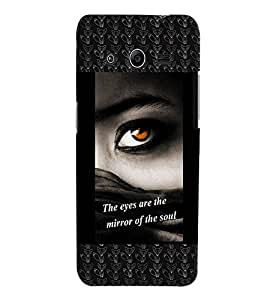 Fuson 3D Printed Quotes Designer back case cover for Samsung Galaxy Core 2 G355H - D4132