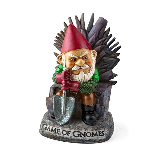 "BigMouth Inc ""Game of Gnomes"" Garden Gnome Statues"