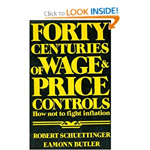 """an analysis of wage and price controls With labor day upon us, newspapers across the us will be printing op-eds calling for a mandated """"living wage"""" and higher wages in general."""