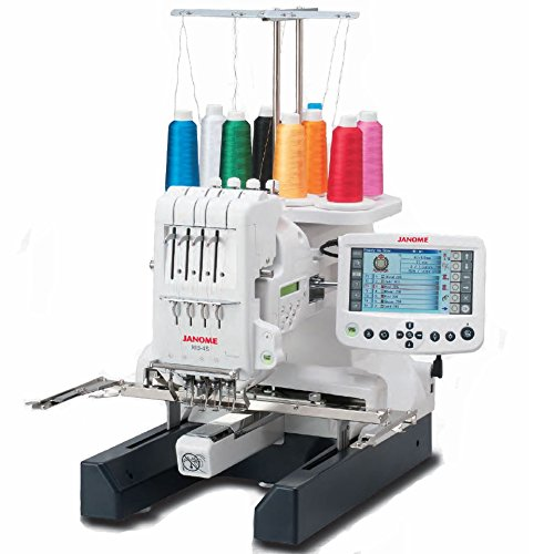 embroidery machine single