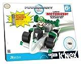 K'NEX Mario Kart Wii Building Set: Luigi's Motorized Sprinter Kart by K'NEX [Toy]
