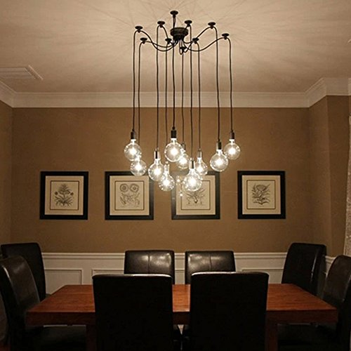 LNC Adjustable Pendant Lighting, Modern Home Ceiling Light