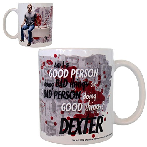 DEXTER tazza:Am I a good person