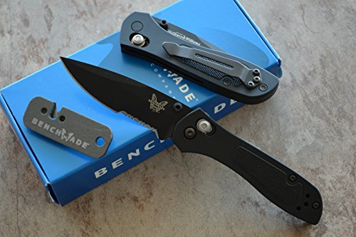 Benchmade 707Sbk Sequel Axis Lock Gentleman'S Knife W/ Free Benchmade Mini Sharpener