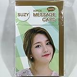 SUZY (スジ - miss A)/フォトメッセージカード30枚セット(K-POP/韓国製)