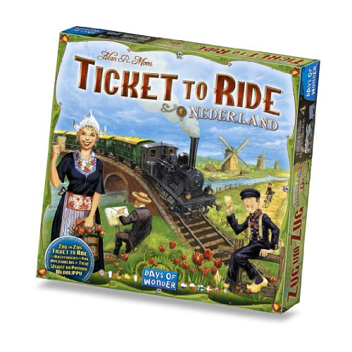 Ticket to Ride Nederland Game (Ticket To Ride Uk compare prices)