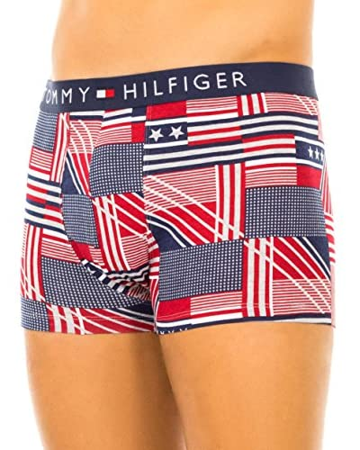 Tommy Hilfiger Pack x 2 Bóxers Rojo / Azul