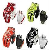 トロイ・リー・デザイン/モトgpオートバイ手袋tldのモトクロス自転車サイクリング手袋 Troy Lee Designs MOTO GP Motorcycle Gloves TLD Motocross Bike Cycling Gloves (Black, M)