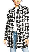 SO Cachemire & Knitwear Chaqueta Punto Tilda (Negro / Blanco)