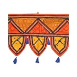 Rajrang Door Hangings Cotton Toran With Patchwork And Embroidery