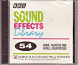 Sound Effects Library #54 India, Pakistan and Nepal: Countryside