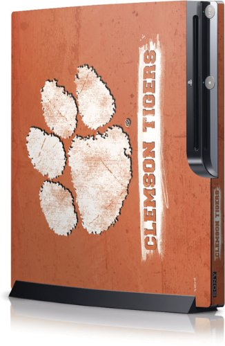Clemson University - Clemson Tigers Vintage - Sony Playstation 3 / PS3 Slim (4th Gen)(160/250GB) - Skinit Skin игровая приставка sony playstation 4 slim 1tb fifa 18 dualshock 4