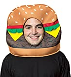 Rasta Imposta Cheeseburger Headpiece Costume