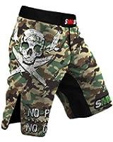 MMA short SMMASH Combat Green MMA BJJ UFC K1 S M L XL XXL