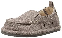 Baby Deer Tweed Walking Slip On (Infant/Toddler/Big Kid), Brown, 10 M US Toddler