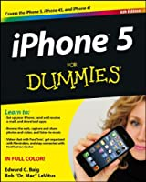 iPhone 5 For Dummies, 6th Edition Front Cover