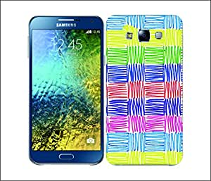 Galaxy Printed 2741 Scribble Patterns Horever Hard Cover for Samsung ACE 3 (7272)
