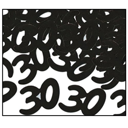 Fanci-Fetti 30 Silhouettes (black) Party Accessory  (1 count) (.5 Oz/Pkg)