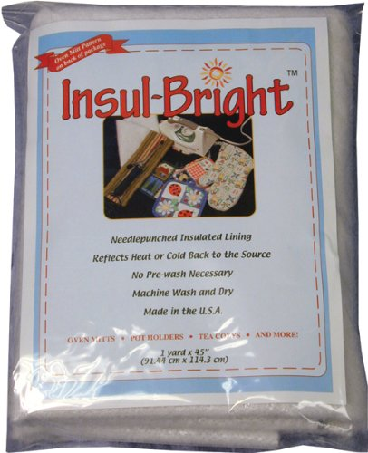 "Warm Company Batting Insul-Bright Insulated Lining-36""X45"""