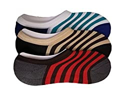 Men's No Show Loafer Socks (Pack Of 3) -Free Shipping & COD Available