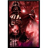 Darth Vader Star Wars - Wood Framed Poster S-WP1393 For Home/Office Décor