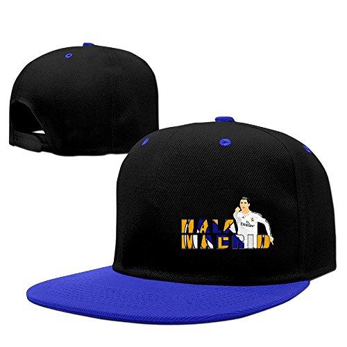 Print Your Own HALA MADRID CRISTIANO RONALDO MADRID Adult Unisex Cotton Baseball Caps Contrast Color Snapback Baseball Hats (Saint Louis Blues Snapback compare prices)