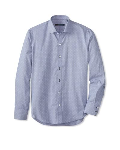 Zachary Prell Men's Lubow Patterned Long Sleeve Shirt