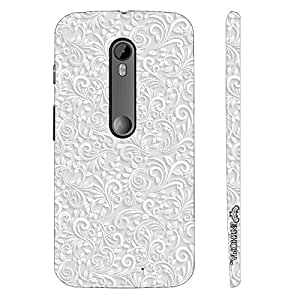 Enthopia Designer Hardshell Case Elegance 3 Back Cover for Motorola Moto G3