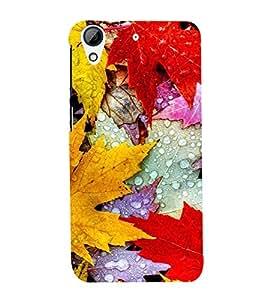 AUTUMN LEAVES Designer Back Case Cover for HTC Desire 728g Dual::HTC Desire 728G::HTC Desire 728