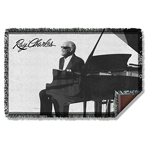 Ray Charles Sunny Woven Throw RC117TAP