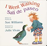 I Went Walking/Sali de paseo: Lap-Sized Board Book
