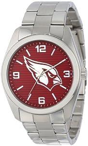Game Time Unisex NFL-ELI-ARI Elite Arizona Cardinals 3-Hand Analog Watch by Game Time