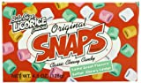 Original Snaps Classic Chewy Candy, 4.5-Ounce Boxes (Pack of 12)