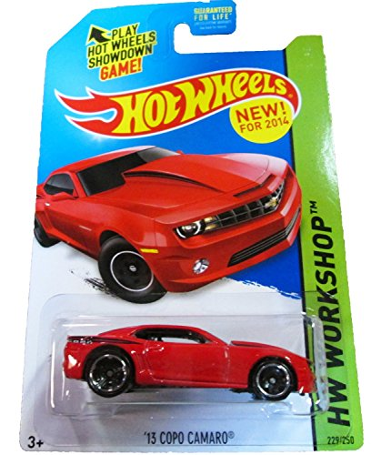 2014 Hot Wheels Hw Workshop - '13 Copo Camaro [Ships in a Box!]