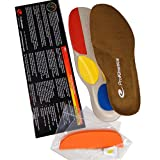 Relieve Back Pain, Knee Pain, Shin Splints and Foot Pain with ProKinetics Natural Body Balance Insoles you Customize to stop Over-Pronation and Supination related Posture problems. Include Easy Instructions and Phone Support. Experience Fast Relief! (Unisex M10.5-12)