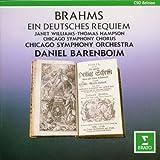 """Brahms - Ein deutsches Requiem / J. Williams, Hampson, CSO, Barenboimvon """"Janet Williams"""""""